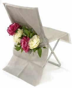 Housse De Chaise Grise : 10 housses de chaise grise achat de decoration ~ Teatrodelosmanantiales.com Idées de Décoration