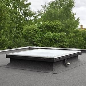 Rehausse Velux Toit Faible Pente : fen tre plane en verre pour toit plat fen tre plane velux ~ Nature-et-papiers.com Idées de Décoration