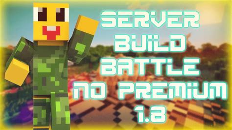 server build battle  premium  el mejor server de