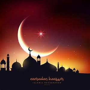 beautiful ramadan kareem background - Download Free Vector ...  Ramadan