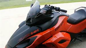 2012 Can Am Spyder Rss Sm5 In Orange And Flat Black