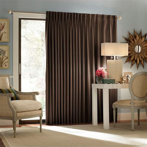 Patio Thermal Drapes - eclipse blackout thermal blackout patio door 84 in l