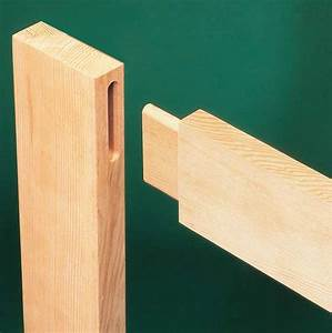 Mortise and Tenon Joints - Woodworker's Journal