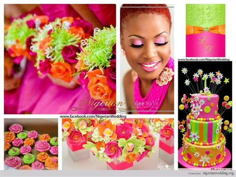 63 Best Nigerian Wedding Color Schemes And Themes Images On