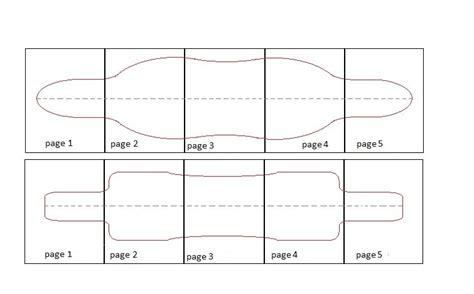 Pintail Longboard Deck Template by Drop Through Longboard Template Www Pixshark