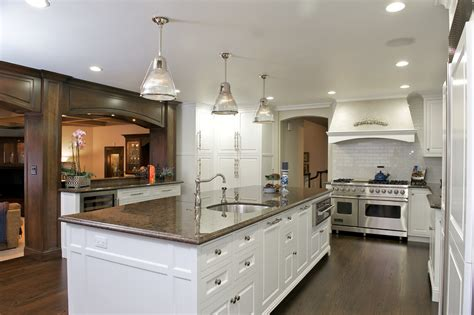 custom kitchen island cost sub zero refrigerator price kitchen traditional with apron