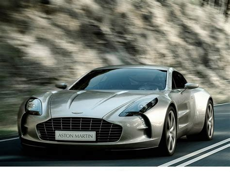 Aston Martin One-77 At Geneva