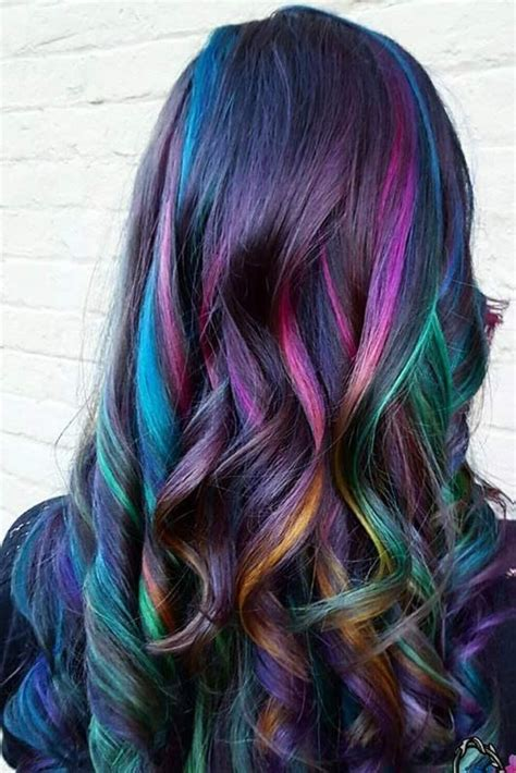Color Hairstyles For Hair by 50 Fabulous Rainbow Hair Color Ideas Hair Hair Styles
