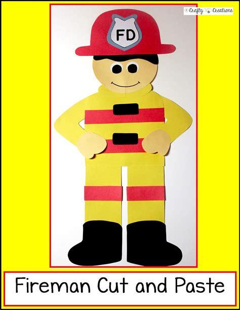 firefighter craft preschool safety crafts 554 | 015616db8b98f203341284ef7c314544