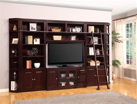 Bookcase Wall Units by Boston 32 Inch Bookcase Entertainment Wall From