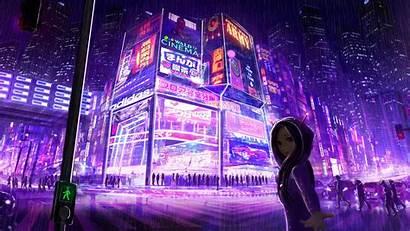 Cyberpunk 4k Wallpapers Cityscape Digital Desktop 1080p