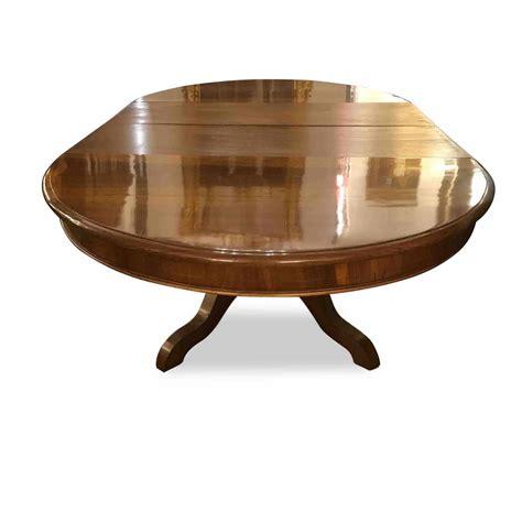 tavolo ovale allungabile antico tavolo antico ovale allungabile in noce 1800 ghilli