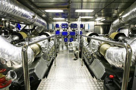 Yacht Engine Room by 10 Gorgeous Superyachts Engine Rooms Marine News