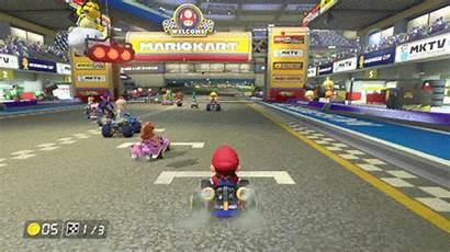 Kart Mario Carrera Games Wii Racing Gifs