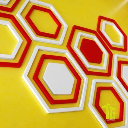 Hexagon Wall Décor  Tevami. Asian Paints Shade Card For Living Room. Family Living Rooms. Jeff Mills Live At The Liquid Room Tokyo. Picture For Living Room Wall