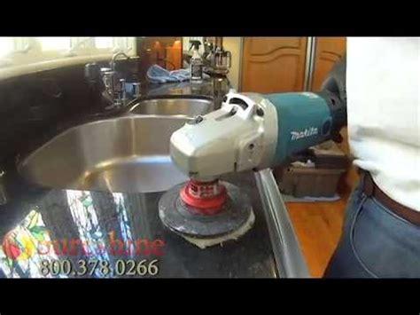 Polishing Countertops - how to granite counters granite polishing