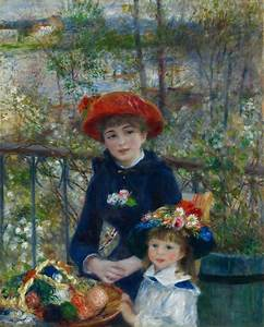 File:Two Sisters On the Terrace by Pierre-Auguste Renoir ...