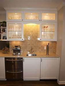 Bar Area With Double Drawer Dishwasher  Prep Sink And