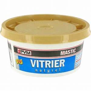 Mastic De Vitrier : mastic vitrier pvm naturel pot 500 g de mastic vitrier ~ Melissatoandfro.com Idées de Décoration