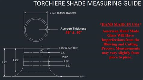How To Measure Torchiere Style Floor L Glass Shades
