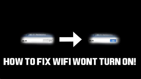why wont my iphone turn on how to fix iphone wifi won t turn on greyed out