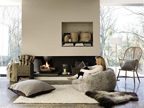 canapé en daim déco cocooning 35 idées pour un salon cosy et chaleureux