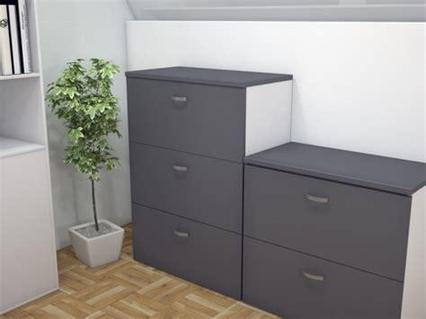 rangement dossiers bureau armoire silver pour dossiers suspendus pas cher