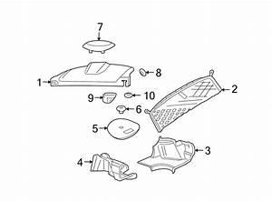 Chevrolet Monte Carlo Seat Belt Trim Bezel  Ebony  Outer