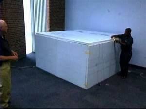 Heat box bed bug treatment demo youtube for Bed bug heat box