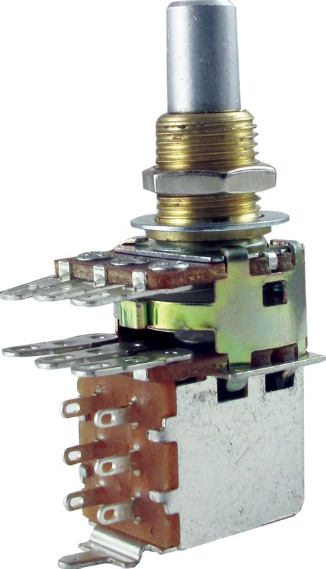 Potentiometer Bourns Audio Solid Shaft Dual Mini