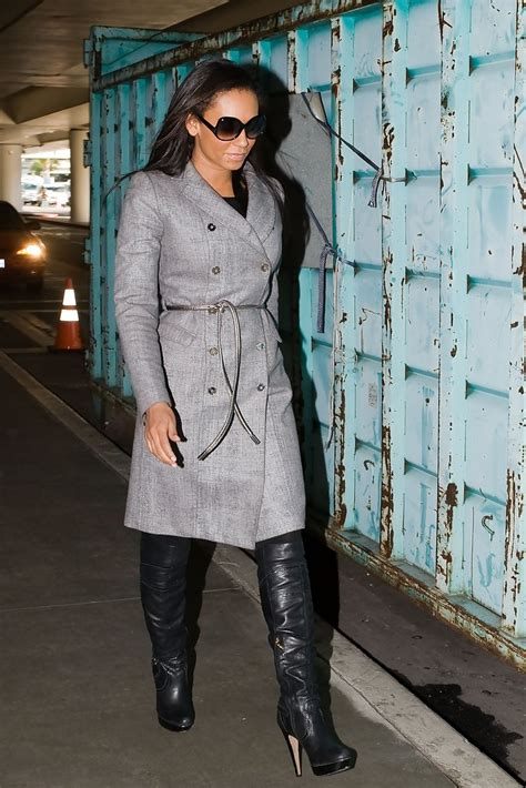 melanie brown knee high boots knee high boots lookbook