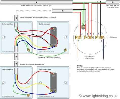Electrical Light Fitting With Power But Way Switch