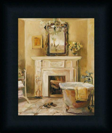 bath iv marilyn hageman bathroom spa framed