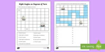 right angle turns worksheet right angles as degrees of turn worksheet worksheet learning from home