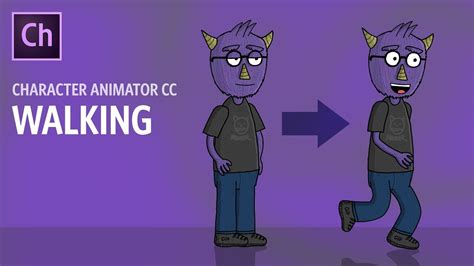 walking adobe character animator tutorial youtube