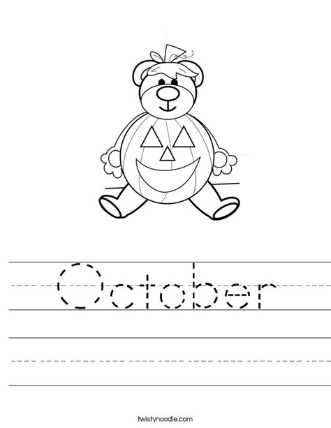 Halloween Handwriting Worksheets Kindergarten  Halloween Worksheetshalloween Writing Worksheets