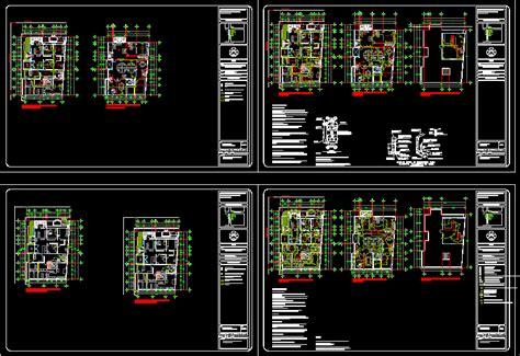 electrical plans dwg plan  autocad designs cad