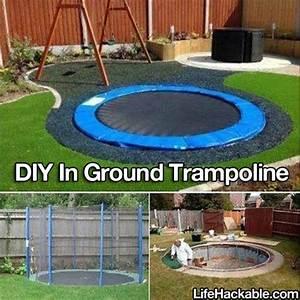 In Ground Trampolin : diy in ground trampoline pictures photos and images for facebook tumblr pinterest and twitter ~ Orissabook.com Haus und Dekorationen
