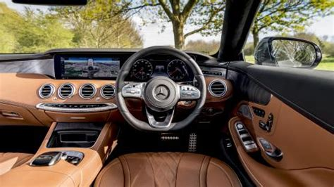 mercedes benz  class coupe interior layout technology