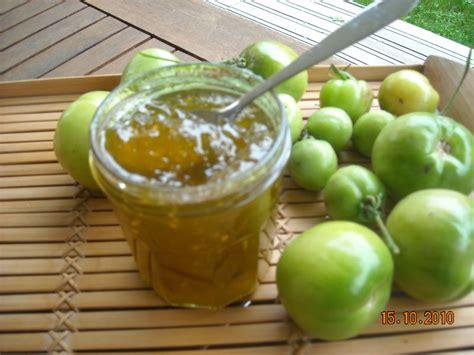 cuisiner des tomates vertes confiture de tomates vertes les recettes de