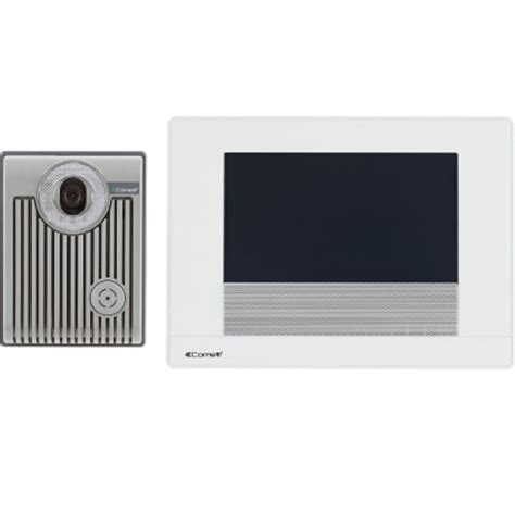 comelit hfx 900r 7 quot touch screen intercom kit with built in door release and call