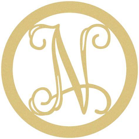 wooden circle monogram letter   custom wood lettering walmartcom walmartcom