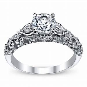 peter lam luxury royal lace 14k white gold diamond With peter lam wedding rings