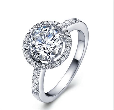 2015 sale 925 sterling silver rings cz for wedding engagement brand