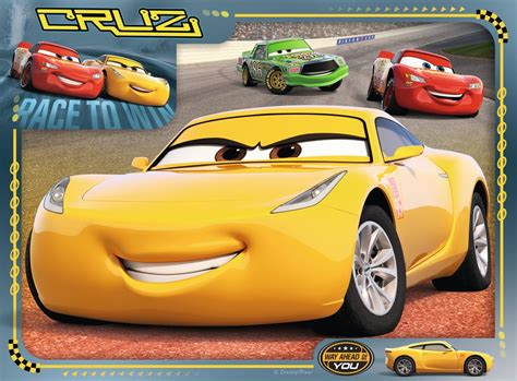 disney pixar cars    box childrens puzzles