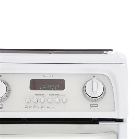 cannon gas cooker oven double hotpoint cookers freestanding carrick cooking