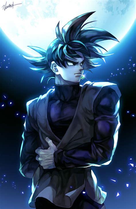 Black Wallpaper Pixiv Id 13109941 Zerochan Anime Image Board Black Goku Mobile Wallpaper 2033852