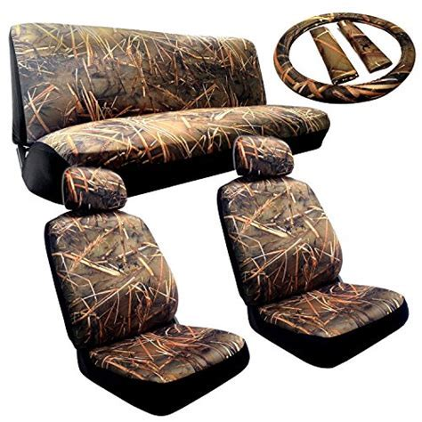 Complete Muddy Water Forest Camouflage Interior Set for