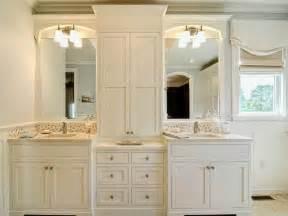 Bathroom Vanity Tower Ideas by Master Bathroom Cabinets Ideas Pedestal Broken White