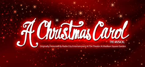christmas carol broadway version  theatre